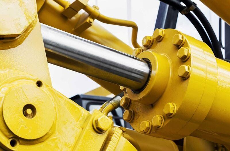 سیستم هیدرولیک | سیلندر هیدرولیک بیل مکانیکی