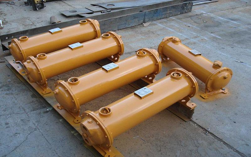 خنک کننده روغن هیدرولیک با استفاده از آب